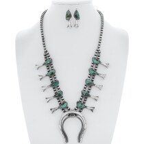 Royston Turquoise Necklace Set 35238