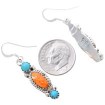 Navajo Sterling Silver Western Dangle Earrings