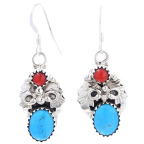 Turquoise Native American Earrings 35247