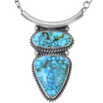 Royston Turquoise Navajo Pendant 35256