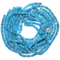 Bright Blue Turquoise Beads 34775