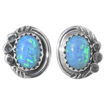 Navajo Fire Opal Post Earrings 35272