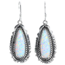 Navajo Fire Opal Earrings 35273