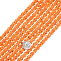 Spiny Oyster Rondelle Beads 34779