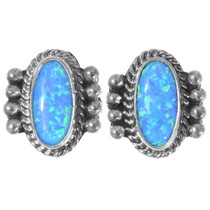 Native American Opal Earrings 35280