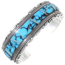 Spiderweb Turquoise Navajo Bracelet 35283