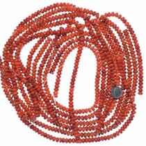 8mm Red Coral Beads Jewelry Making Supplies 35506