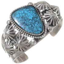 Vintage Spiderweb Turquoise Bracelet 35292