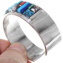 Raised Cobblestone Inlay Multi Stone Bracelet 35297