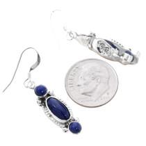 Navajo Lapis Lazuli Earrings 35305