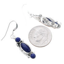 Navajo Lapis Lazuli Earrings 35305