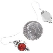 French Hook Sterling Silver Dangle Earrings 35310