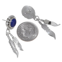 Native American Lapis Lazuli Earrings 35313