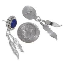 Native American Lapis Lazuli Earrings 35313