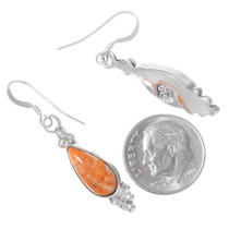Navajo Spiny Oyster Shell Earrings 35329