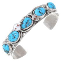 Turquoise Zuni Snake Bracelet 35342