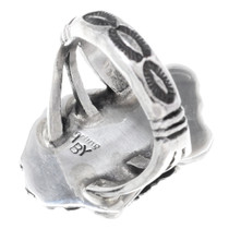 Native American Silver Ladies Ring Artist Signed 35344