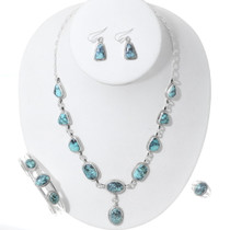 Navajo Matching Turquoise Jewelry Collection 35351