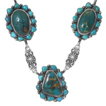 High Grade Turquoise Necklace 35357