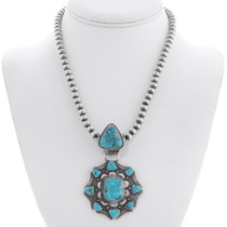 Native American Turquoise Necklace 35361