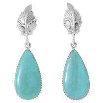 Turquoise Teardrop Earrings 35374