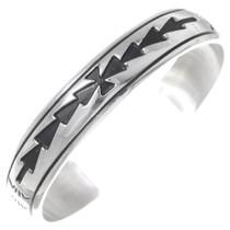 Navajo Sterling Silver Cuff Bracelet 35379
