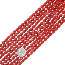 Apple Coral Beads 34789