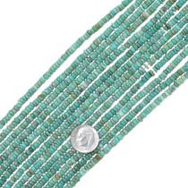 Green Turquoise Heishi Irregular Disc Beads 34791