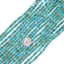 Real Turquoise Heishi 34792