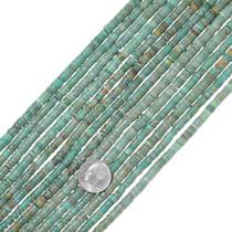 Turquoise Heishi Matte Finish 34793