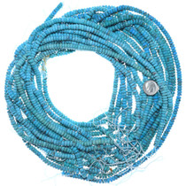 Bright Color Turquoise Beads Rondelle 34796