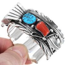 Native American Sterling Silver Watch Cuff 35385