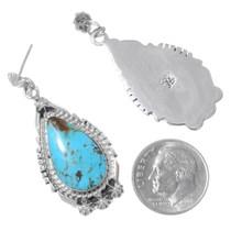 Navajo Annie Spencer Turquoise Earrings 35389