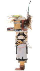 Hand Carved Kachina Doll Wall Hanger 35400