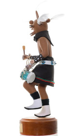 Large Hand Carved Mudhead Kachina Doll 35404