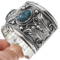 Spiderweb Turquoise Navajo Bracelet 35405