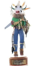 Vintage Hopi White Ogre Kachina Doll 35406