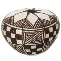 Small Vintage Acoma Seed Pot 34510