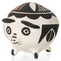 Small Vintage Acoma Pig Effigy Pottery 34511