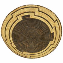 Vintage Papago Indian Basket 35416