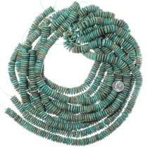 Irregular Disc Turquoise Beads 35503