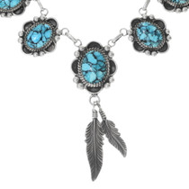 Navajo Turquoise Necklace 27697