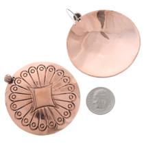 Copper Native American Earrings 35465