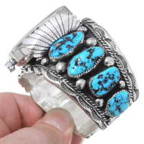 Native American Vintage Turquoise Watch Bracelet 35468