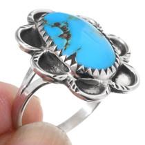 High Grade Kingman Turquoise Ring 35473