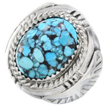 Spiderweb Turquoise Mens Ring 35487