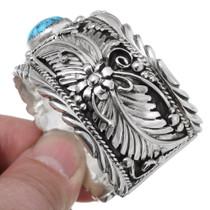 Southwestern Sterling Silver Navajo Bracelet 35490