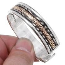 Sterling Silver Gold Western Bracelet 35491