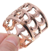 Old Pawn Style Ladies Copper Cuff Bracelet 35496