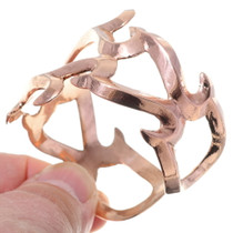 Old Pawn Style Copper Bracelet 35601